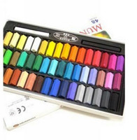 Wholesale EMS Colors set Hot Selling Temporary Hair Chalk Color Dye Pastel Chalk set