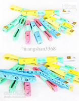 Wholesale Automatic retractable tape portable amount of clothing size meters small soft leather ruler