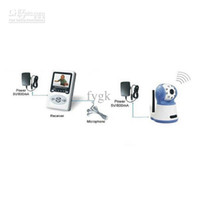 Wholesale 2 quot Wireless Digital Monitor Talk Camera IR Video for Baby