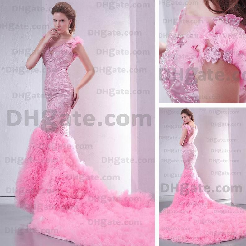 Wholesale Mermaid Wedding Dresses Buy Sexy Wedding Dresses Pink