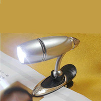 Wholesale Bullet bookend lights led reading lamp fishing lamp bait lights electronic electronic paper book rea