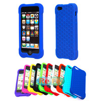 mobile phone silicone case - Silicone Soft Mobile phone Cases Cover For iPhone Case Honeycomb Lattice refly