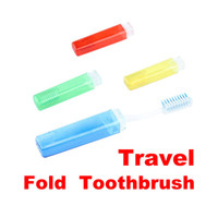 Wholesale 200 Travel Hiking Camping Folding Dental Toothbrush Kids