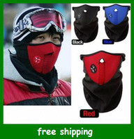 Wholesale Neoprene Neck Warm Face Mask Veil Guard Sport Bike Motorcycle Ski Snowboard Black gift