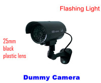 Wholesale Outdoor Dummy Fake CCTV IR Wireless Security Camera Flash Red Led Professional
