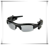 Wholesale 5 in Spy Sunglasses Spy Camera Video MP3 Bluetooth FM Radio Hidden Video Recorder Mini DV DVR