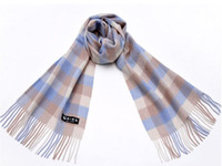 Wholesale Designer Check Neck Scarves Wool Scarf Plaid Long Scarf Scarves Top Quality Cheap