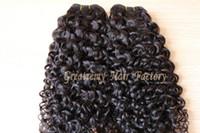 "Curly Brazilian Virgin Human Hair Extensions 8"" - 30&quot..."
