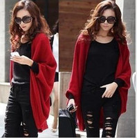 Wholesale New Autumn Winter Female Knitted Yarn Solid Scarf Ultra Long Muffler Sweater coat sweater cardigan