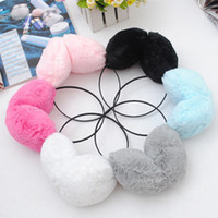 Wholesale 2012 Fashion Winter Earcap Soft Fur Fluffy plush ear muffs Unisex Plush ear muffles Christmas gift