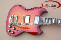 Solid Body 6 Strings Mahogany SG Tremolo Vibrato electric guitar China Guitar
