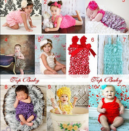 30pce Cute! Toddler Baby Girl Lace Posh Pettiskirt Ruffle Rompers Dress Children Tutu Lace Clothes