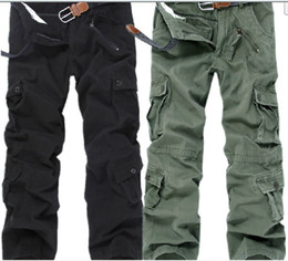 Wholesale Mixed color CASUAL MILITARY ARMY CARGO CAMO COMBAT WORK PANTS TROUSERS Cargo Pants SIZE