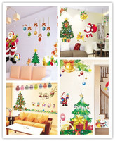 Wholesale Christmas series wall stickers a hot sale Price of factory direct sales quality assurance