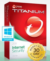 Antivirus & Security Trial Windows Trend Micro Titanium Internet Security 2013 1Year 1PC, trend 2013 1 year 1user