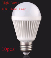 10X E27 18W Globe lamp Led Light 85V- 265V 40pcs 2835LED Spot...
