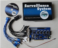 Wholesale 16CH GV Card GV V8 GV DVR Board GV800 V8 CCTV GV DVR Card Kakacola New Arrival