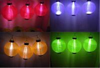 Garden solar chinese lantern - Christmas Light Solar Power Chinese Lantern Garden LED Festive lanterns Chandelier