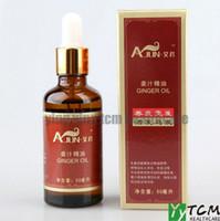 oil hair - Promotion Hot AIJUN wild ginger oil hair loss anti loss ml remove grease hair growth