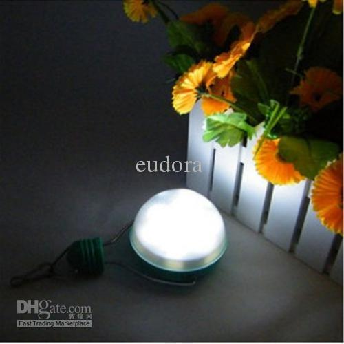 Wholesale outdoor solar 6LED lighting bulb Solar hanging light ...