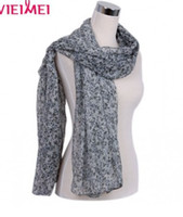 Wholesale 2012 Hot sale Printing scarves Fashion100 Polyeste Scarves small Flower pattern long scarf for women