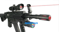 Wholesale Kids Submachine Gun - kid toys Vibration gun electric toy gun submachine gun belt infrared gunfire-1pcs lot