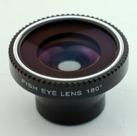 Wholesale A8002 degree fisheye lens fish eye for cell phone degree wide angle lens for iphone