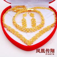 Cheap Women's earring set Best Alloy Pendant Necklaces bracelet set