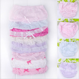 Wholesale Mix order Baker pants with lace girls briefs knickers panties thong underwear underpants briefs