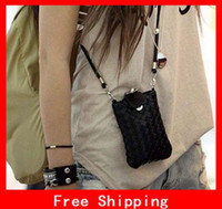 Wholesale 2012 Cell Phone Case Lovely Phone Bag Exquisite Phone Pouch Multipurpose Woven Bag