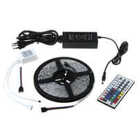 Wholesale FEDEX Free Controller Power Supply IP65 Waterproof LED M SMD5050 RGB LED Strip Light b0123