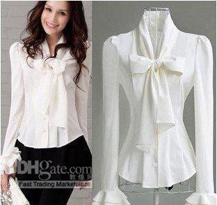 Images of White Blouses For Women - Reikian