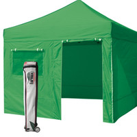 Wholesale NEW EURMAX KELLY GREEN Canopy x Commercial EZ POP UP Tent Walls Roller Bag Awning