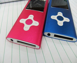 Wholesale 10pcs th gen mp4 player with internal memory GB flower button mp3 mp4 music player fm radio e book function