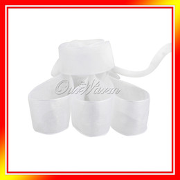 Wholesale White Yards quot mm Organza Sheer Ribbon Craft Bow Wedding Supply Decor OGB WHT