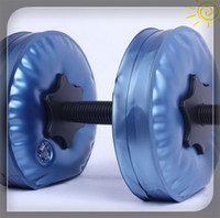 Wholesale new adjustable dumbbells Water Poured Dumbbell have RoHS approved pairs