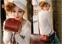 Fashion Handbags Messenger Bags Christmas PU Rivets 2012 Hot...