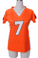 Wholesale 2012 Danver orange pink Women Draft Him II Top Jerseys Football Jersey Jerseys size S M L XL XXL