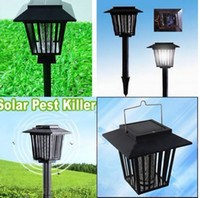Wholesale 48x New Outdoor Solar Mosquito Insect Repellent Killer Lamp Light Lantern Pest Controller