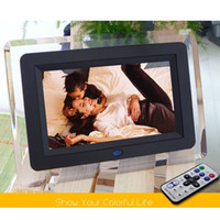 Wholesale New quot Digital Video Picture Photo Frame MP3 Music Blue Light For MS SD MMC Card