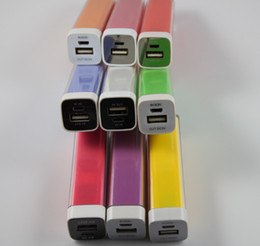 Xmas gift 2200mAh Universal Cuboid USB Power Bank External Battery Charger Smart Energy For iPhone 5
