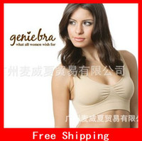 Wholesale Newest Body Shaper Push Up Genie Bra With Removable Pads Women s Two double Vest BREAST RHONDA SHEAR