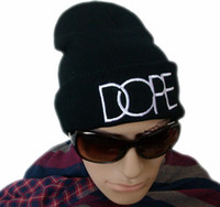 Wholesale Christmas hat Women s men s DOPE BEANIE hats Winter Hat Knit hat Cap