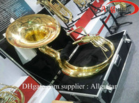 Wholesale Gold K Sousaphone with case