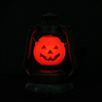 Wholesale Halloween Pumpkin Hand Light Lamp Ornament Light Creepy Sound Decoration Party Toy