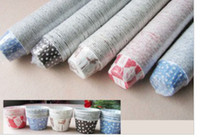 Wholesale MULTI patterns Paper muffin cases cake cups cupcake cases bake cup cupcake wrappers