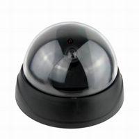 Wholesale 100pcs Fake Dummy Dome Seciruty Camera Motion Detector LED Survillance Fake Camera S
