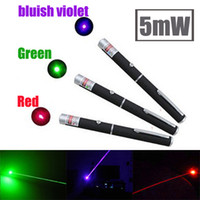 Wholesale 5mW nm Green light Beam Laser Pointer Pen efit For SOS Mounting Night Hunting teaching Xmas gift