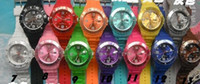 Wholesale OY Candy Icy Watches jelly with calendar fashion watches children watches Christmas gift