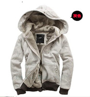 Wholesale new men s plush thick warm overcoat winter coat fleece amp cotton padded Jacket